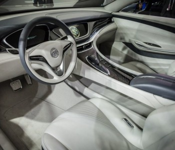 Buick Leather Etching car interior