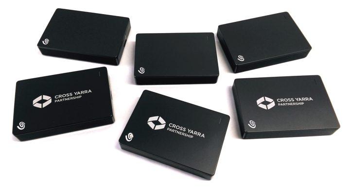 laser etching - corporate branding