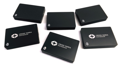 laser etching - corporate branding