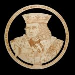 laser cut and engraved plywood