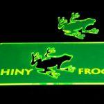 laser cut green fluoro acrylic