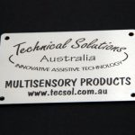 laser marked stainless labels