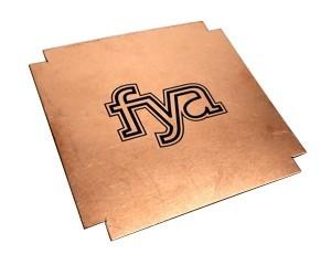 laser marked copper