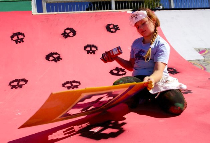 Spray Paint Stencil Preview