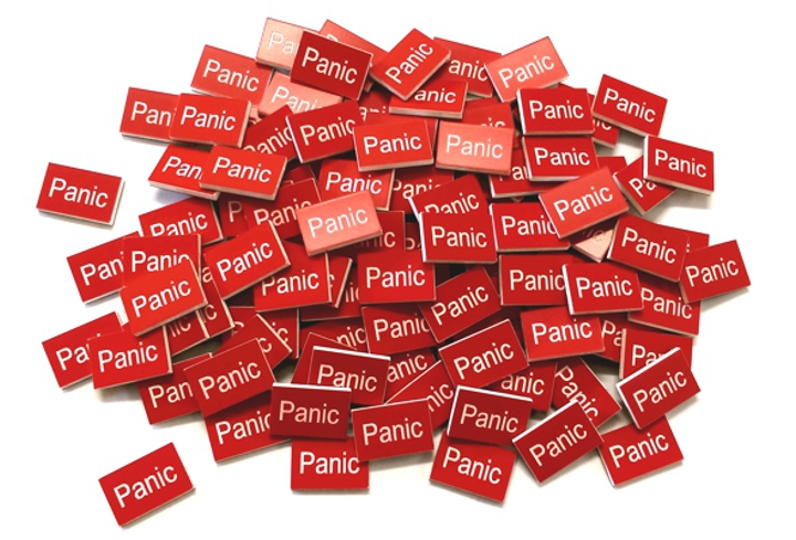 Panic Plastic Labels