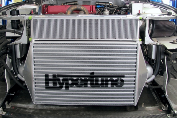 spray paint stencil intercooler