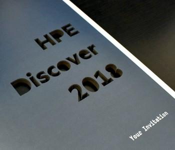 hpe laser cut inviation
