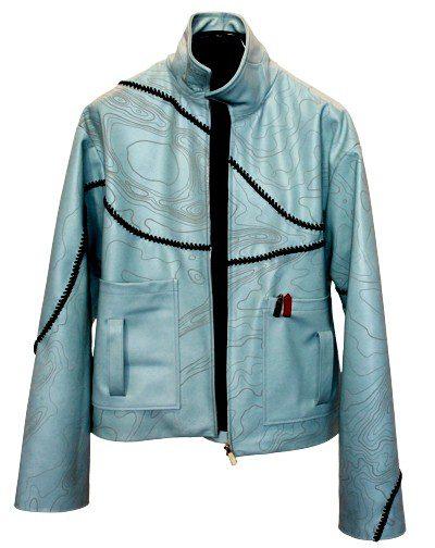 Leather Jacker Laser Etching