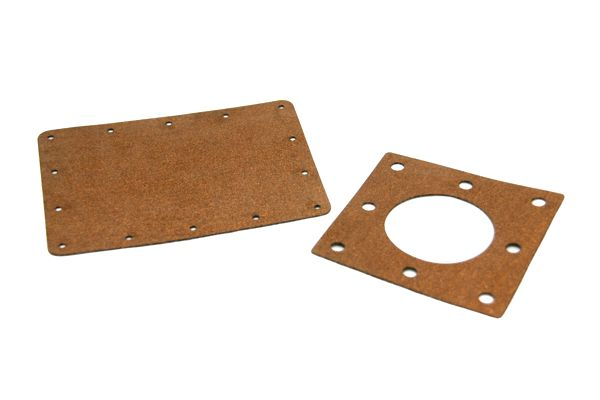 laser cut cork gaskets