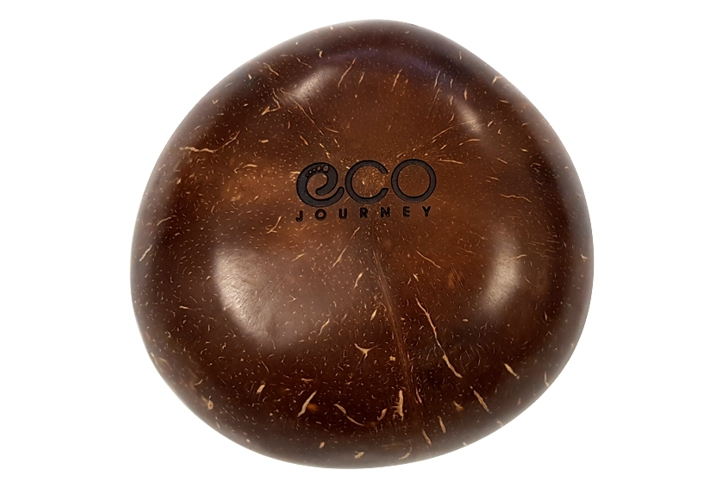 Eco Journey - brown coconut bowl engraved