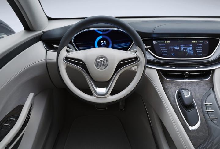 Buick Avenir concept Detroit project 1