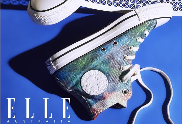 Elle magazine laser cut paper – cover