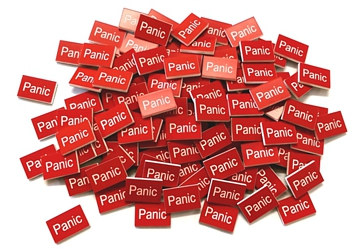 panic – traffolyte plastic labels